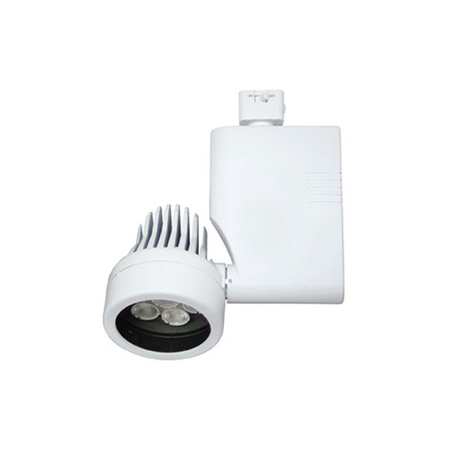CTL8029L 27W 27K Spot LED Dimmable Optica Track Fixture by ConTech | CTL802927LS27D-P