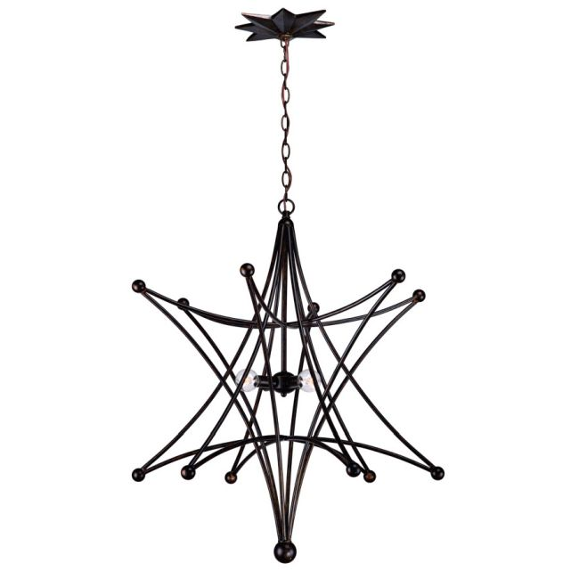 Astro Chandelier by Crystorama | 9236-EB