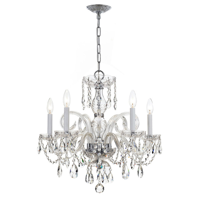 Traditional Crystal 1005 Polished Chrome Chandelier by Crystorama | 1005-CH-CL-MWP
