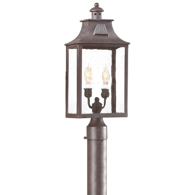 Newton Post Lantern by Troy Lighting | PCD9003OBZ