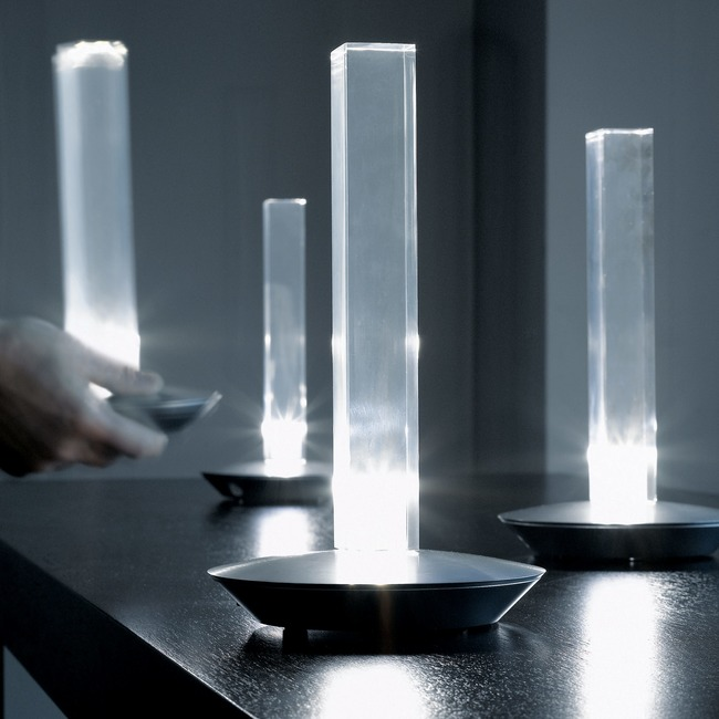 Cand-Led 205 Table Lamp by Oluce Srl | CAND-LED-205