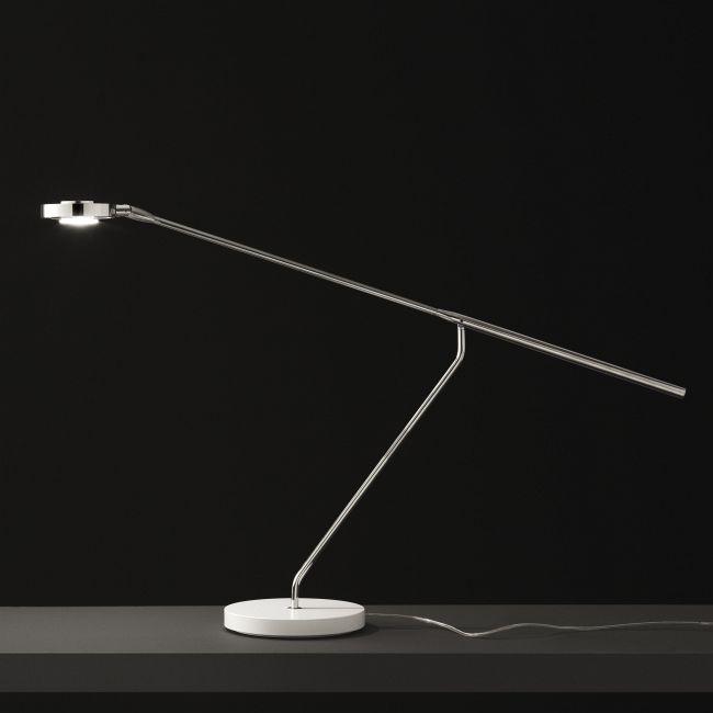 Lutz 290 Desk Lamp by Oluce Srl | LUTZ-290/CH