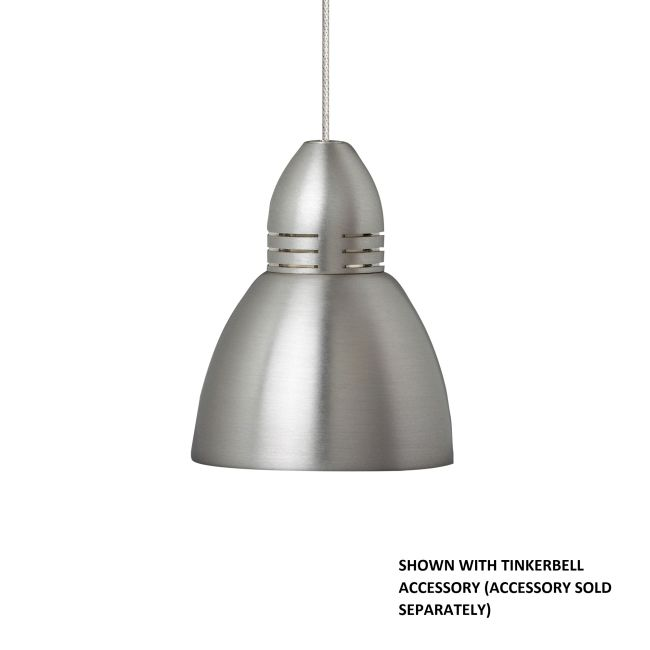 Freejack Halogen Torpedo Pendant by Tech Lighting | 700FJTRPNS
