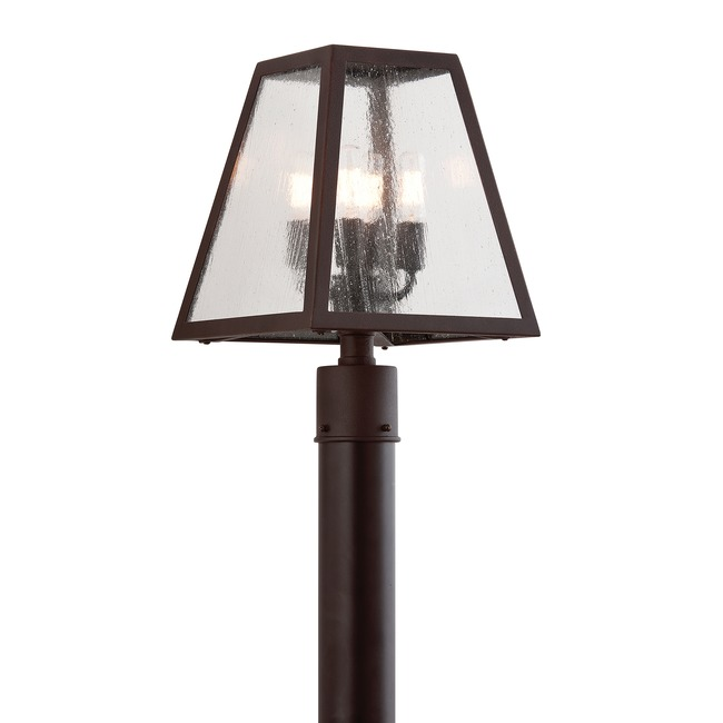 Amherst Outdoor Coastal Post Light by Troy Lighting | PCD3435-C