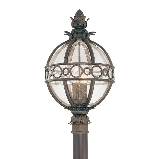 Campanile Outdoor Post Lantern  by Troy Lighting
