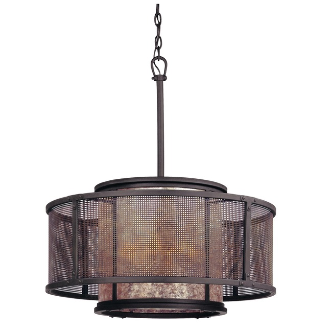 Copper Mountain Round Pendant  by Troy Lighting