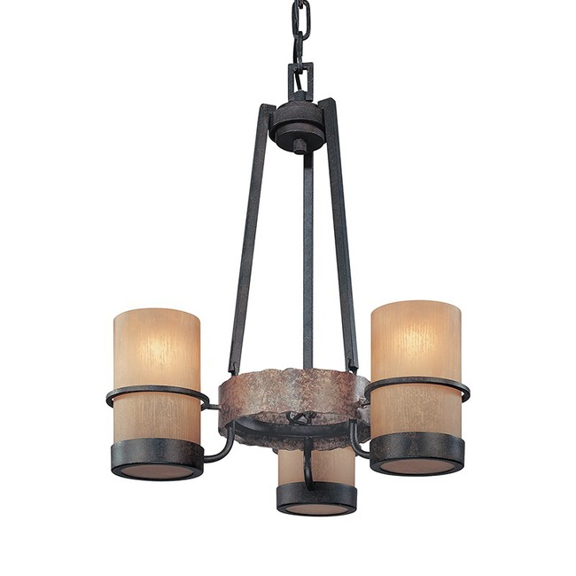 Bamboo Chandelier by Troy Lighting | F1845BB