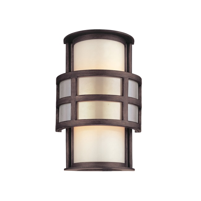 Discus Outdoor Wall Sconce by Troy Lighting   B2731