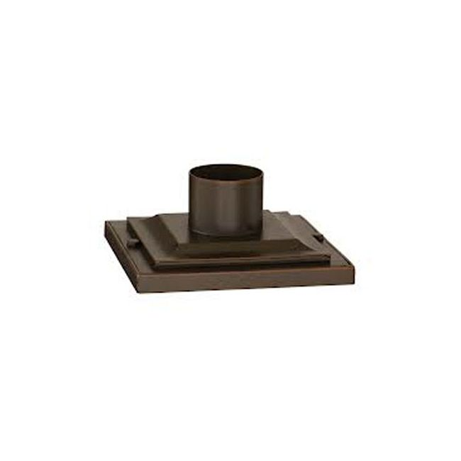Pier Mount Square Step Base by Troy Lighting | PM4941ABZ