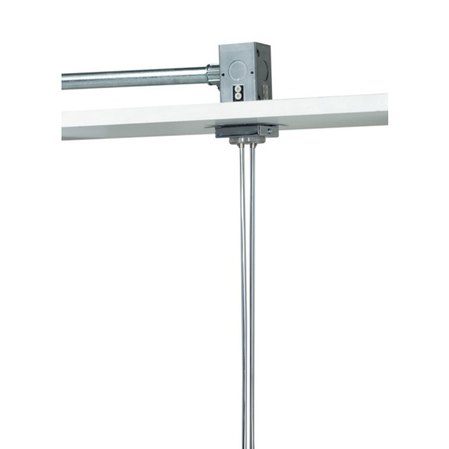 Kable Lite 2 Inch Single Feed Square Canopy by Tech Lighting   700KP2C24C