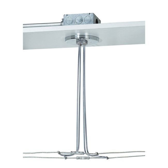 Kable Lite 4 Inch Dual Feed Round Canopy by Tech Lighting   700KP4C424C