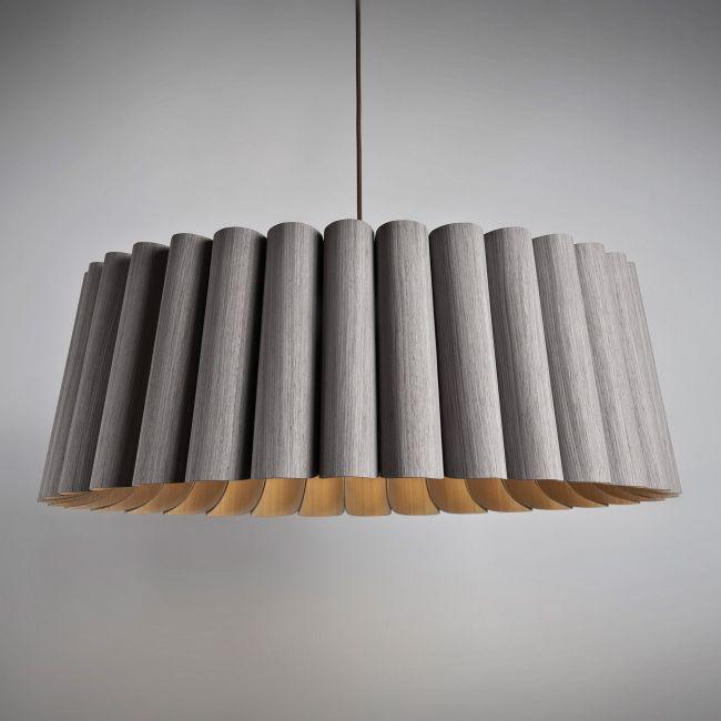 Renata Round Suspension by WEP Light | RE80-GRAY-ASH