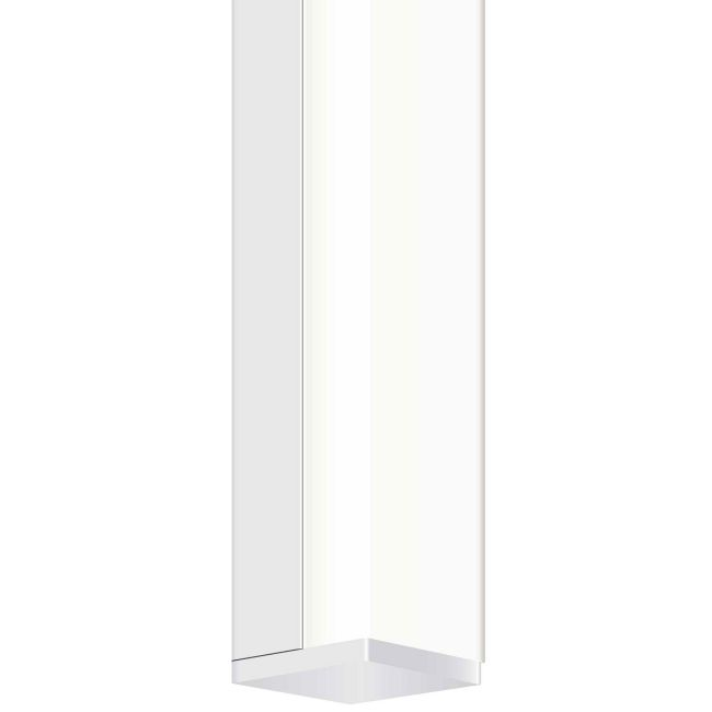 Twiggy S1 12V Satin Aluminum Bath Bar w/ Rectangle Canopy  by PureEdge Lighting