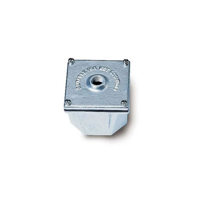 BI2 4 Inch Galvanized Cast Iron Junction Box by Hadco | BI2