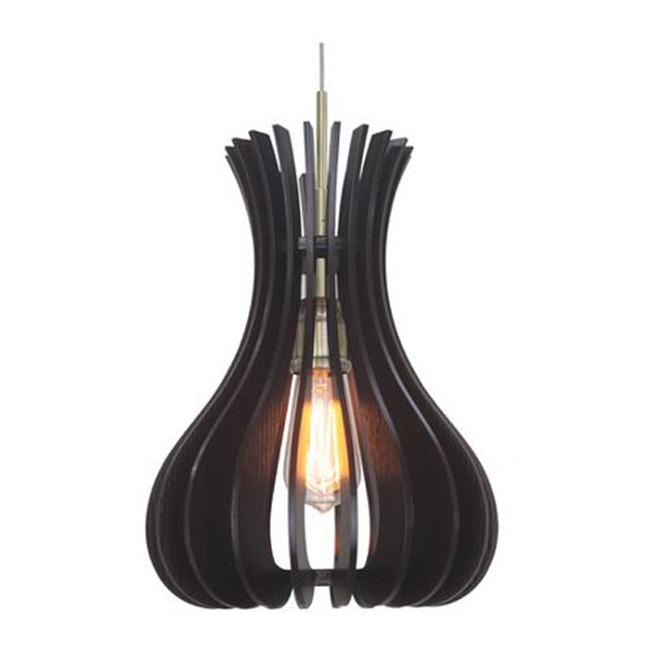 Genie Woodwork Pendant  by Woodbridge Lighting