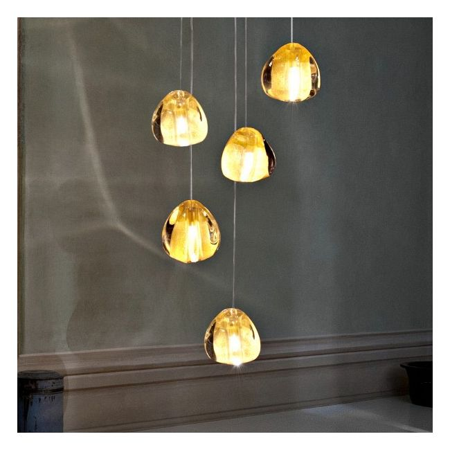 Mizu 5 Light Pendant by Terzani USA | 0R05SE8A4A