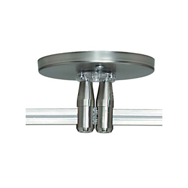 Monorail 4 Inch Round Canopy Dual Feed by Tech Lighting | 700MOP4C402S