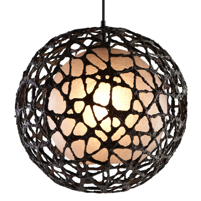 C-U C-ME Round Hanging Lamp by Hive  by Kenneth Cobonpue