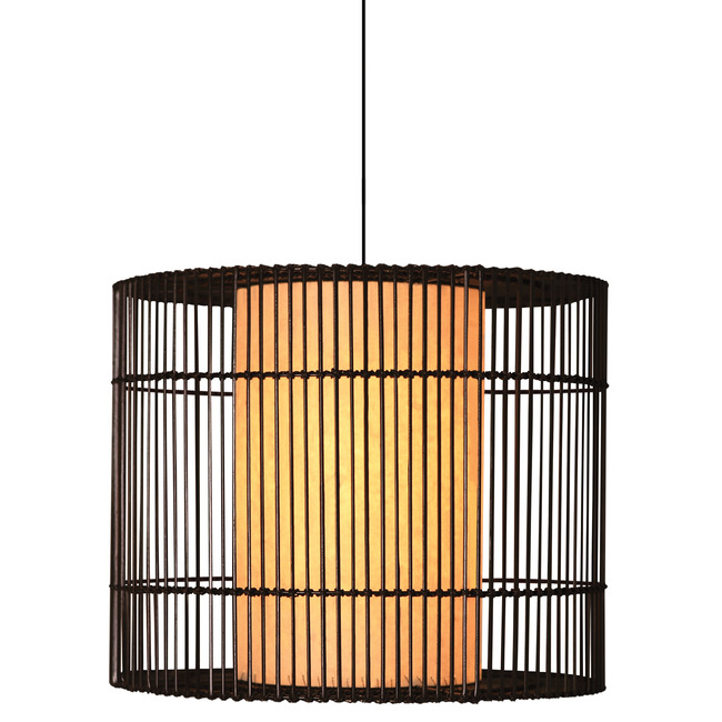 Kai O Indoor Hanging Lamp  by Kenneth Cobonpue
