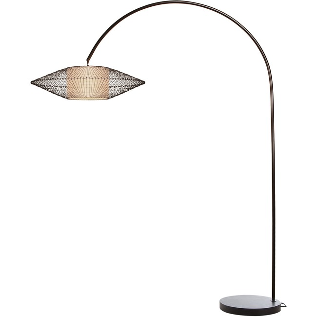 Kai Arc Floor Lamp by Hive | LAKI-2878