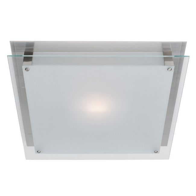 Vision Flush Wall or Ceiling Mount by Access | 50030-BS/FST