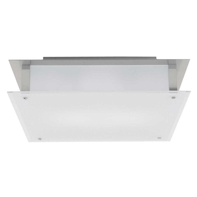 Vision Square Ceiling Light Fixture by Access | 50035-BS/FST