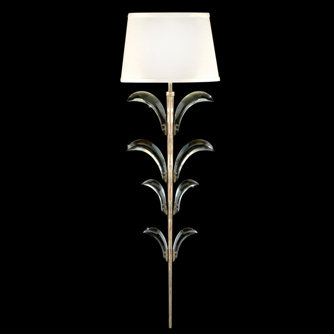 Beveled Arcs Wall Light with Shade by Fine Art Lamps | 738450