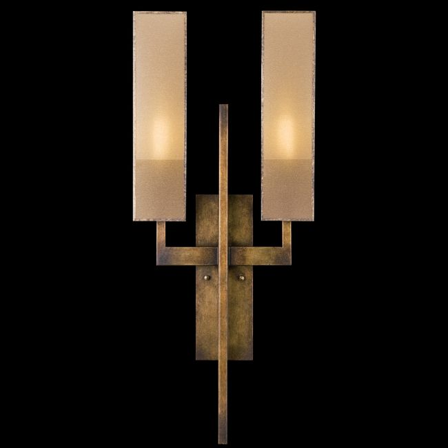 Perspectives Dual Arm Wall Sconce by Fine Art Lamps | 733050GU