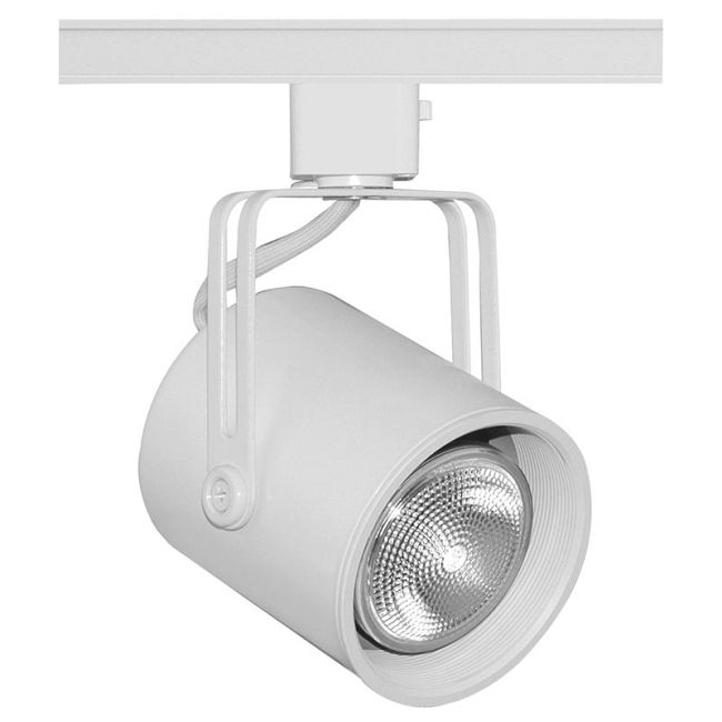 T423 PAR20 Mini Flat Back Track Fixture 120V by Juno Lighting | T423WHBWH
