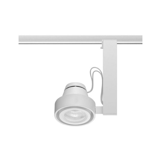 T816 Trac-Master Uno Enclosed MR16 Lamp Holder by Juno Lighting | T816WH