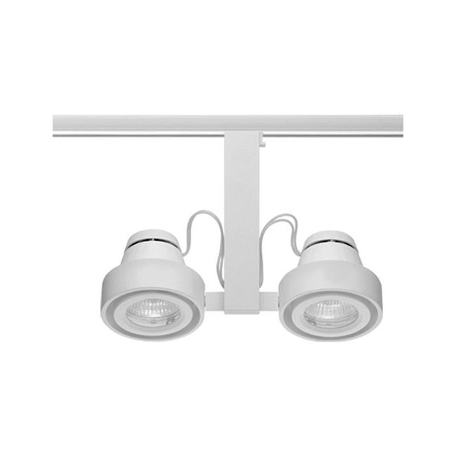 t817 trac master duo enclosed mr16 lamp holder by juno lighting t817wh