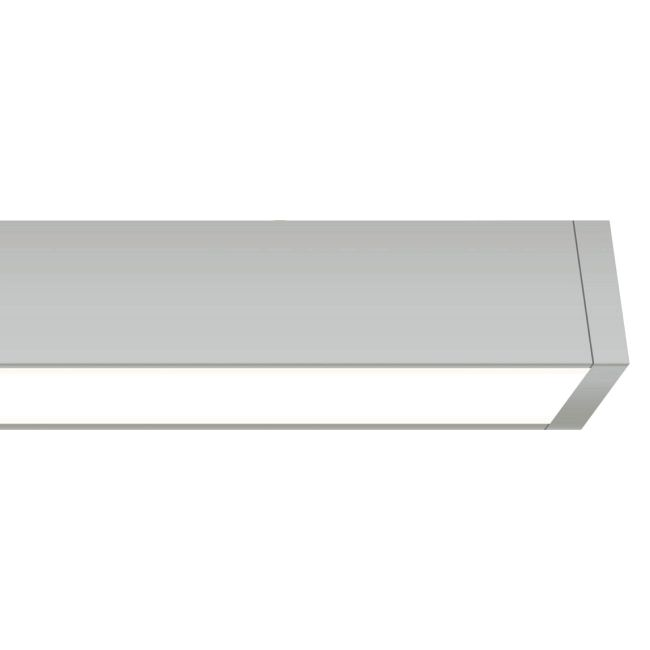 Cirrus Channel Ceiling Flush D1 Direct Lens 2.5W WET by PureEdge Lighting | CC-D1-2WDC-12IN-27K-SNW