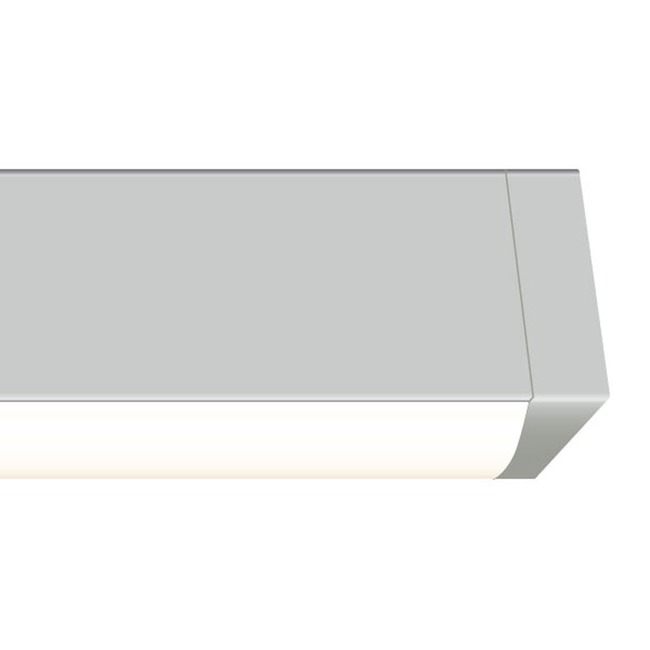 Cirrus Channel Wall Grazer 7W by PureEdge Lighting | CC-WG-7WDC-12IN-27K-SN