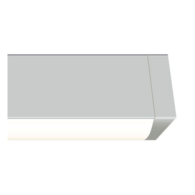 Cirrus Channel Wall Grazer 7W WET by PureEdge Lighting | CC-WG-7WDC-12IN-27K-SNW