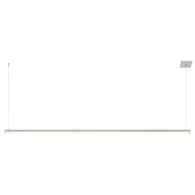 Cirrus R1 Linear Suspension w/Remote/End Feed/SQ Canopy  by PureEdge Lighting