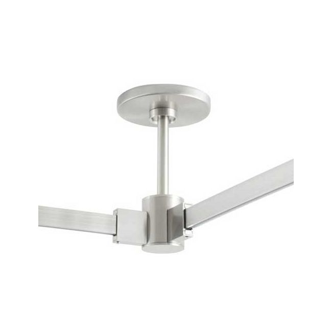 T-Trak 4 Inch Round Power Feed Canopy with L Connector by Tech Lighting | 700TTP4CL06S