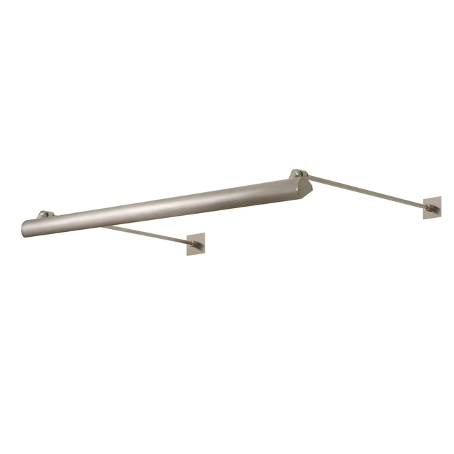 Kurve Display Sign 2.8 Square Canopy by PureEdge Lighting | KD-7WDC-2SQ-12IN-27K-SN