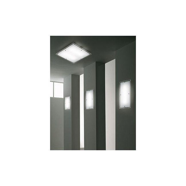 Quadra Ceiling Lamp by Vistosi | PLQU47X47BCEL