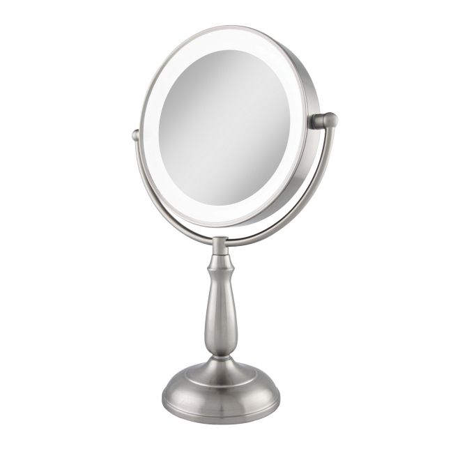 Ultra Bright Dual Sided 1X/10X LED Light Vanity Mirror  by Zadro