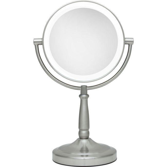 5x/1x Cordless Dual Sided LED Light Vanity Mirror  by Zadro