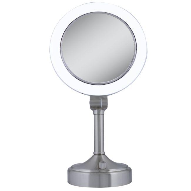10x/1x Surround Vanity Mirror by Zadro   SLV410