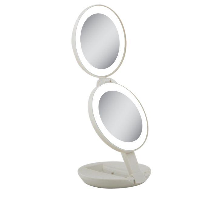 10x/1x LED Next Generation Travel Mirror by Zadro   LEDT01