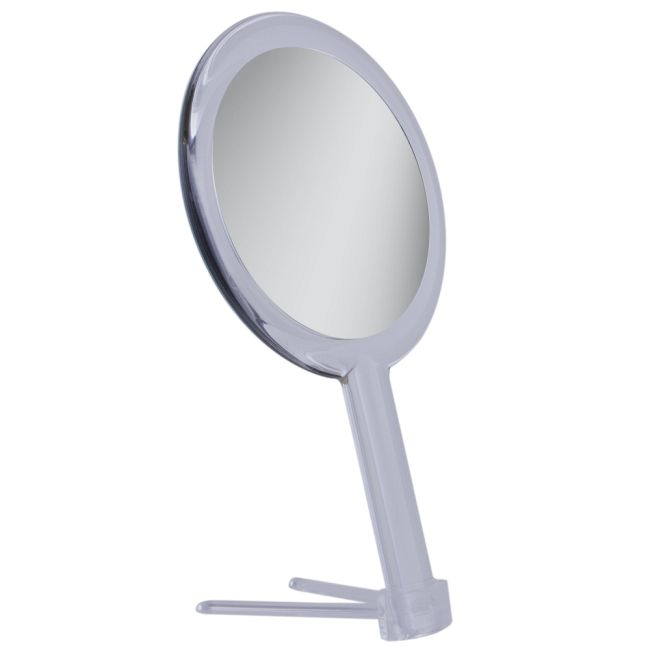 5x/1x Dual Sided Hand Held Mirror  by Zadro