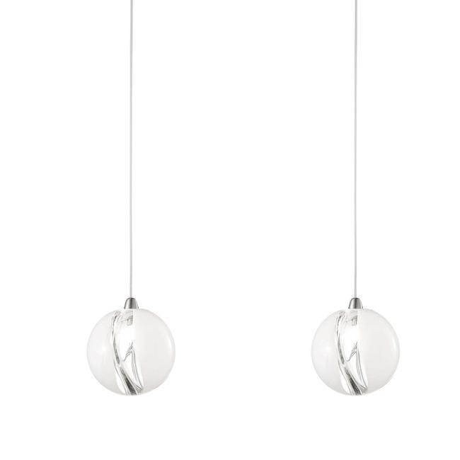 Sp 16 2 light pendant by vistosi sppoc16d2crni poc sp 16 2 light pendant by vistosi sppoc16d2crni aloadofball Image collections