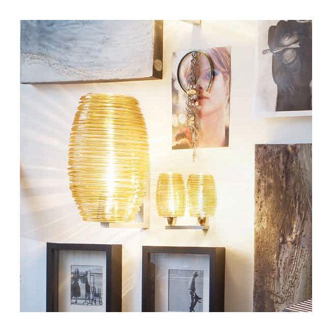 Damasco 2-light Wall Lamp by Vistosi | APDAMASP2ATONI
