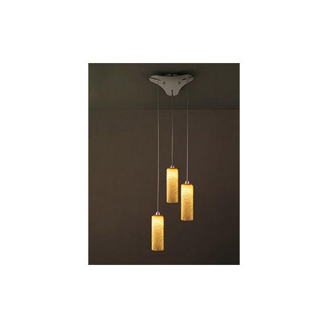 Follia 3-light Pendant by Vistosi | SPFOLL3PTOCRNI