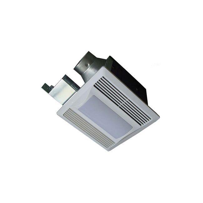 SBF110 L1 Super Quiet Fan with Light/Nightlight by Aero Pure | SBF110 L1 W