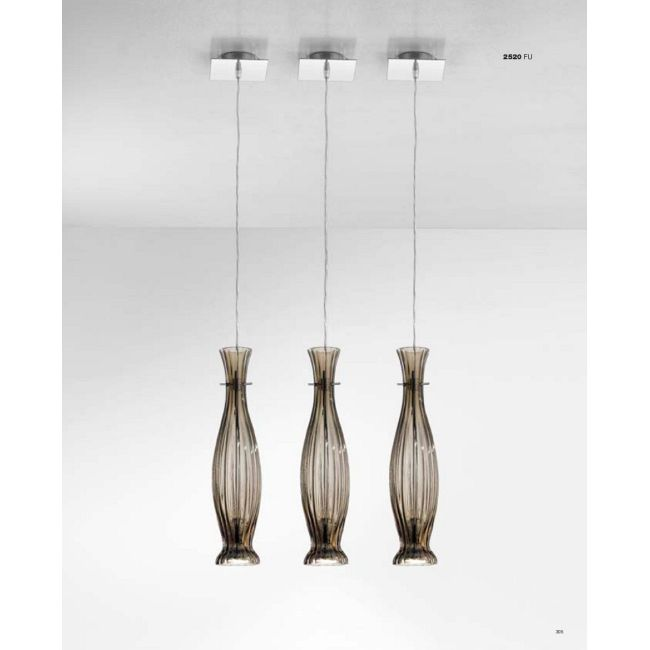 2520 Pendant by Lightology Collection   LC-0220-FU