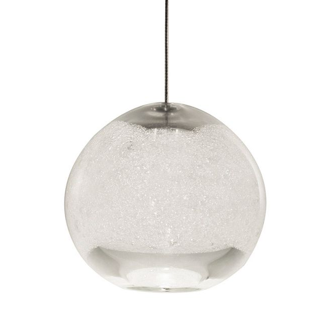 Small Thick Bubble Round FJ Pendant by Siemon & Salazar | 24-44-129XS-SN