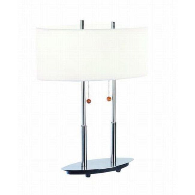 Bliss Table Lamp by Lite Source Inc.   LS-3821PS/WHT